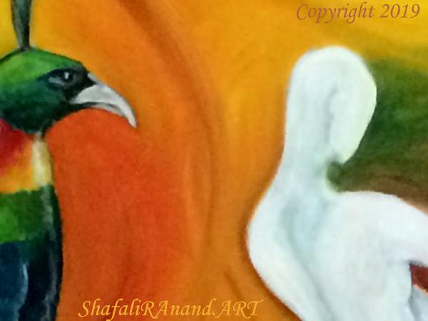 Shafali R Anand - Figurative Expressionist Symbolism - Contemporary Fine Art in India