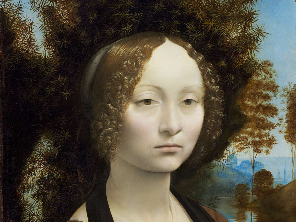 Ginerva de Benci - Portrait by Leonardo Da Vinci - Artist vs. Art