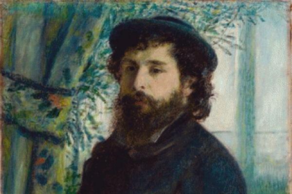 French Impressionist Claude Monet's Portrait by Auguste Renoir